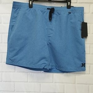 NWT Hurley One & Only boarshorts Mens XXL Blue A7A